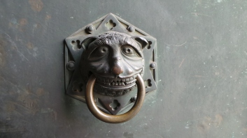 As in Italy, it appears the Germans know how to make door handles interesting.